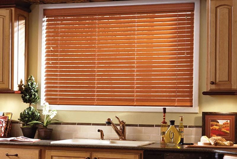 Кухонные жалюзи фото