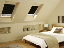 Рулонные шторы для мансардных окон - фото 3