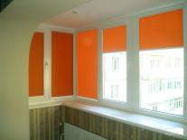 Рулонные шторы INTEGRA BOX на пластиковые окна - фото 5