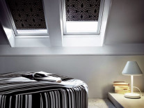 Рулонные шторы для мансардных окон - фото 1