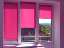 Рулонные шторы на пластиковые окна - фото 1