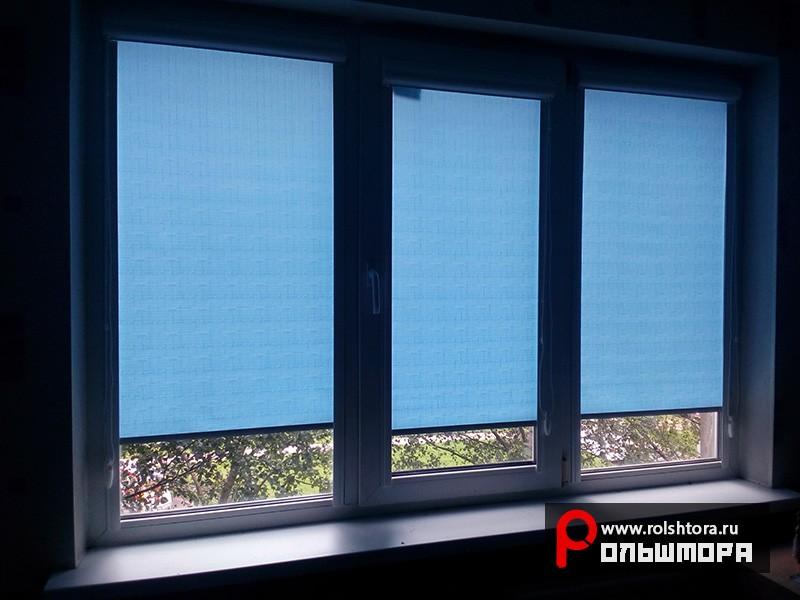Наши работы - Рулонные шторы